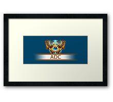 ADC Badge Framed Print