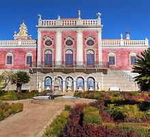 Terrace of The Palacio De Estoi by manateevoyager