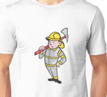 Fireman Firefighter Emergency Worker  Unisex T-Shirt