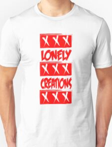 LONELY CREATIONS TRIPLE X RED T-Shirt