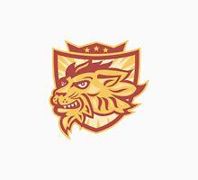 Lion Mascot Head Shield   Unisex T-Shirt