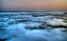 Merewether Rocks by bazcelt