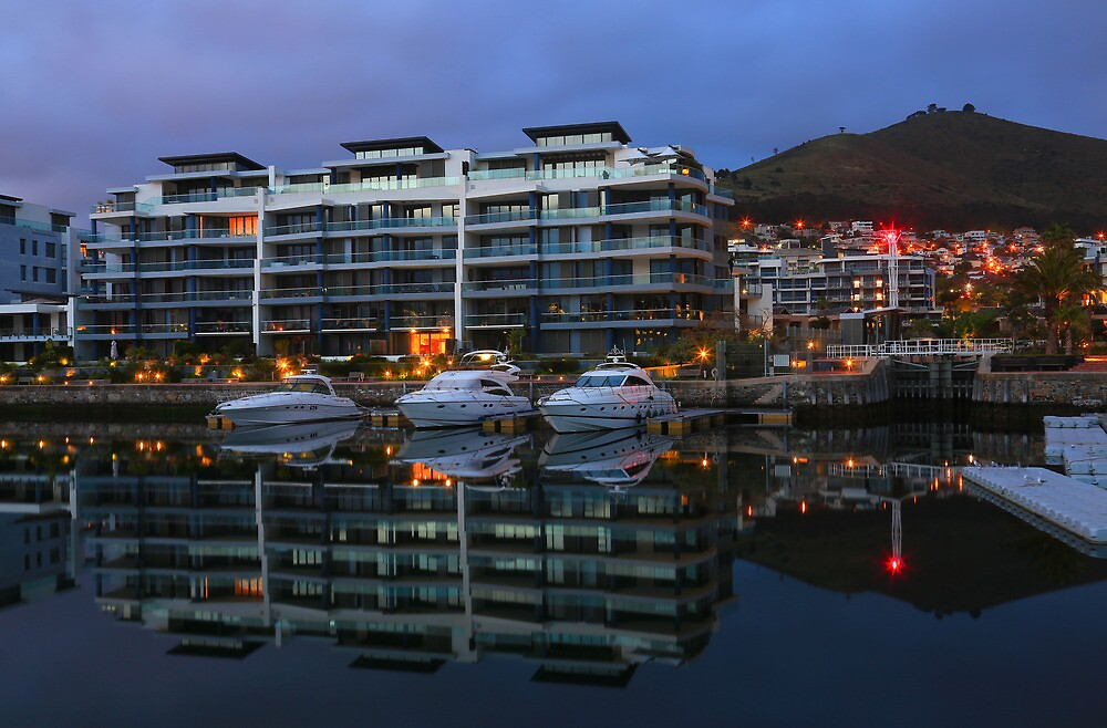 Waterfront Reflections by Cameron B