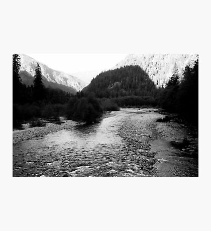 Mt. Baker National Forest, Baker River Photographic Print
