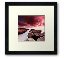 Soldiers Beach Sunrise Framed Print