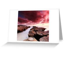 Soldiers Beach Sunrise Greeting Card