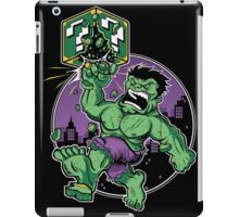 SUPER SMASH GREEN iPad Case/Skin