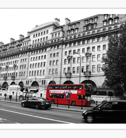 London Bus Travels Sticker