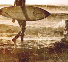 The Original Vintage Surfer Sticker