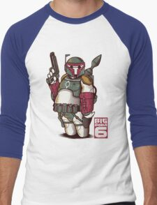 BIG BOBA 6 Men's Baseball ¾ T-Shirt