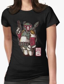 BIG BOBA 6 Womens Fitted T-Shirt