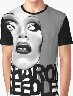 Sharon Needles Black and White Graphic T-Shirt