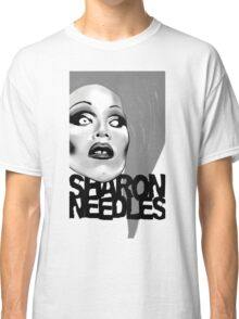 Sharon Needles Black and White Classic T-Shirt