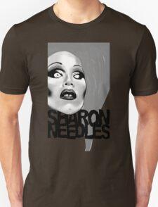 Sharon Needles Black and White Unisex T-Shirt