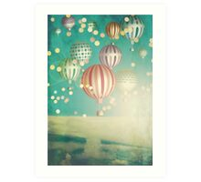 There's magic in the air (Christmas Time) Art Print