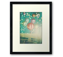 There's magic in the air (Christmas Time) Framed Print