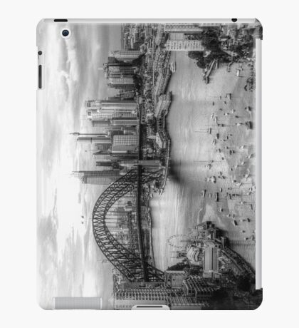 Monochrome Dreams (IPAD CASE)- Sydney Australia - The HDR Experience iPad Case/Skin