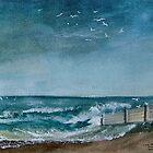 WILD BEACH   ART PRINTS by Shoshonan