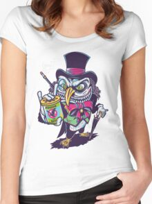 HUNTING THE BAT Women's Fitted Scoop T-Shirt