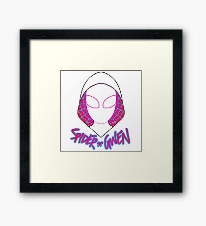 Arachnid Lass Framed Print