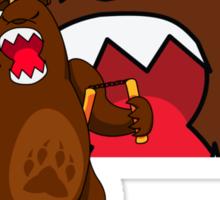 Foe Grizzle with Logo Sticker