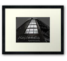 Hacienda Apartments Framed Print