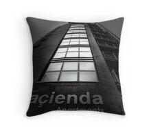 Hacienda Apartments Throw Pillow