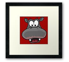 head cow Framed Print