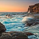 Incoming tide by Drew Walker