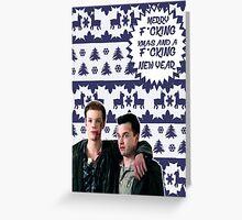 Merry F*cking Christmas [[Gallavich]] II Greeting Card