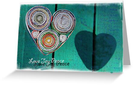 Recycled Heart by Michelle Ricketts