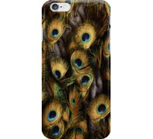 golden peacock iPhone Case/Skin