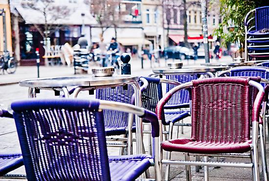 Bremen Street Cafe Chairs - Viertel by A.David Holloway