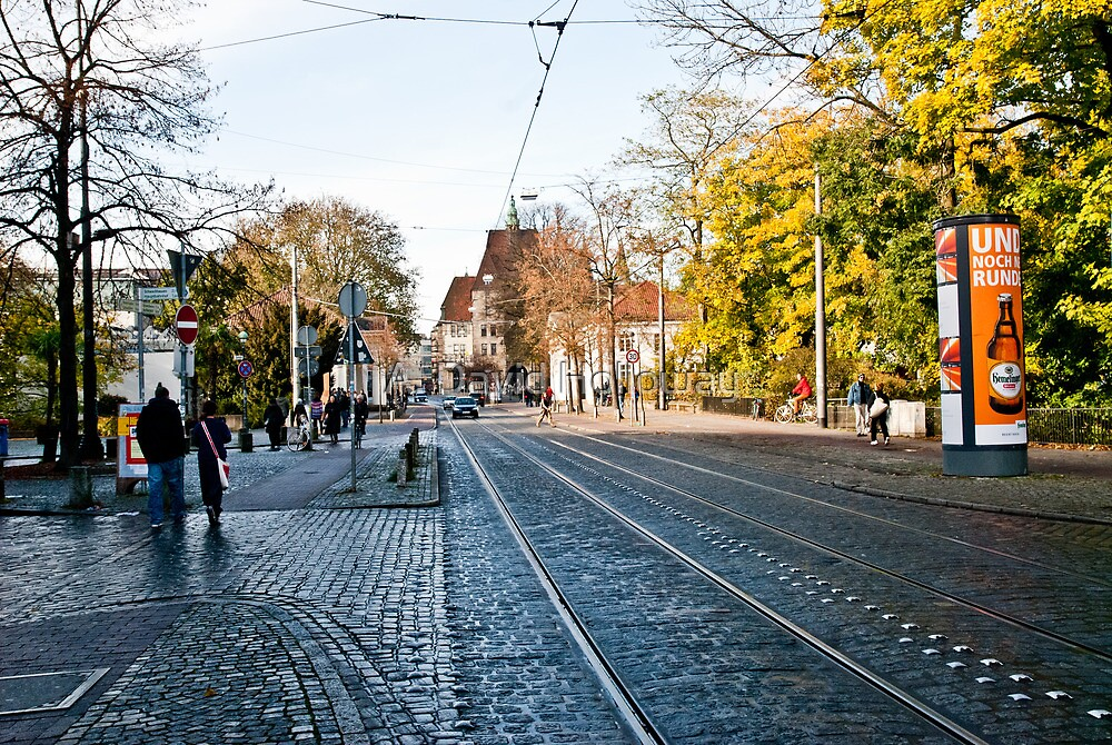 Street - Viertel (Ostertorsteinweg) by Aaron Holloway