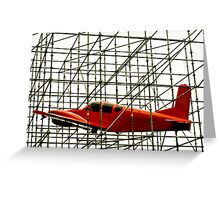 Scaffolding For Air Safety Greeting Card