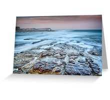 Merewether on the Rocks Greeting Card