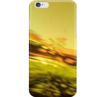 Diagonal streaks iPhone Case/Skin