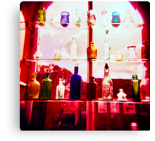 Holga bottles Canvas Print