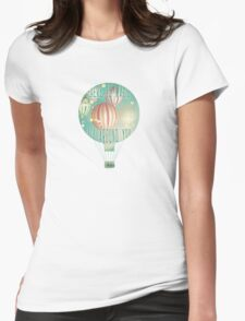 There's magic in the air (Christmas Time) Womens Fitted T-Shirt