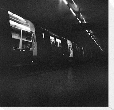 Holga London underground by redcow