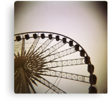 Holga big wheel Canvas Print