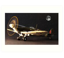Spitfire MH434  Art Print