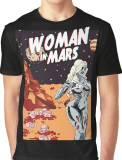 Woman In Mars Graphic T-Shirt