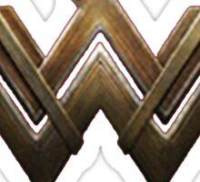 Batman v Superman (Wonder Woman Logo) Sticker