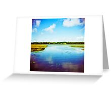 Holga river Greeting Card