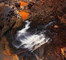 Karijini dreaming - Handcock Gorge Karijini N.P. by Mark Shean