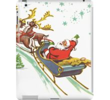 santa claus christmas iPad Case/Skin