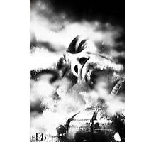 Burning Man Photographic Print