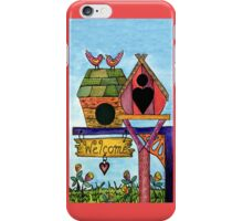 BIRDS WELCOME IPHONE COVER iPhone Case/Skin
