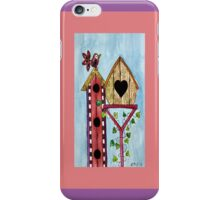 BIRD HOUSE IPHONE COVER iPhone Case/Skin